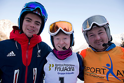 WHITLEY James, GALLAGHER Kelly Guide: GREEN Ross, 2015 IPCAS Europa CUp, Sella Nevea, Tarvisio, Italy