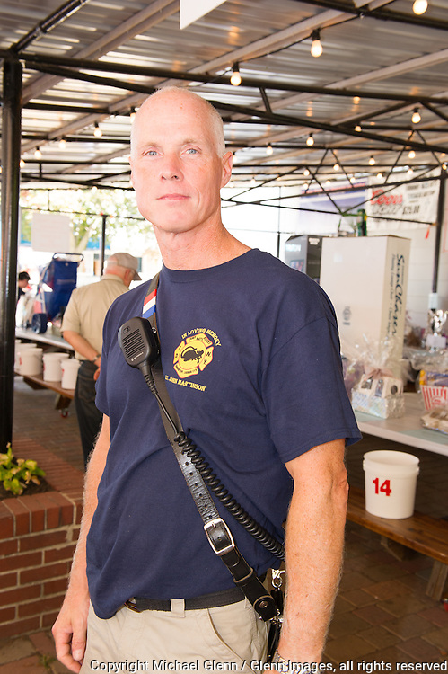 19 Sep 2015 Staten Island, New York US // Steven Martinson, Brother of Lt John Martinson at the 8th annual Lt. John Martinson Memorial Picnic at the Hillside Swim Club //  Michael Glenn  /   for the FDNY