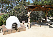 Outdoor Kitchen at Serrano Adobe at Heritage Hill Historical Park