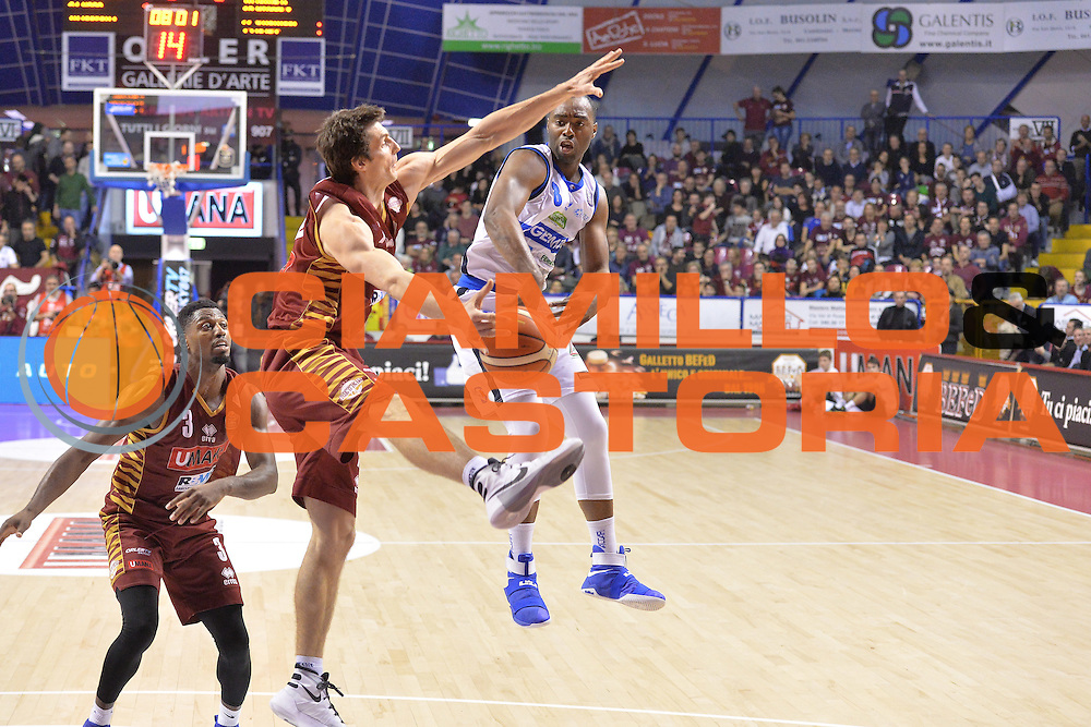 Marcus Landry<br /> Umana Reyer Venezia - Germani Basket Brescia<br /> Lega Basket Serie A 2016/2017<br /> Venezia 18/12/2016<br /> Foto Ciamillo-Castoria