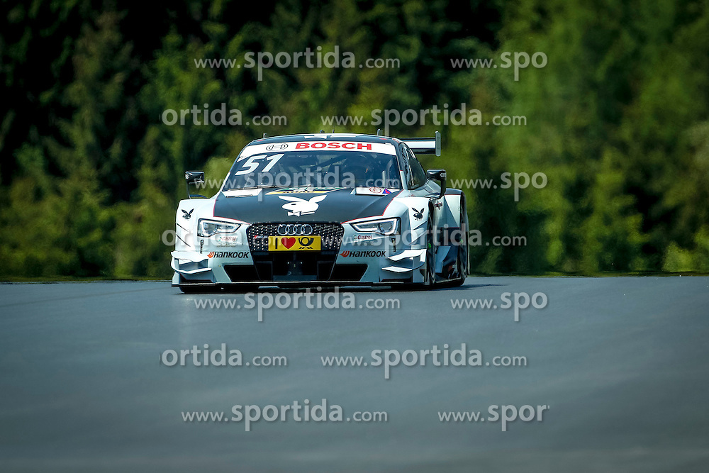 21.05.2016, Red Bull Ring, Spielberg, AUT, DTM, Red Bull Ring Spielberg, Training, im Bild Nico Müller (SUI / Audi Sport Team Abt) // during the free practice of the DTM at the Red Bull Ring, Spielberg, Austria on 2016/05/21, EXPA Pictures © 2016, PhotoCredit: EXPA/ Erwin Scheriau