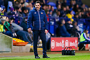 Sunderland Manager Chris Coleman  during the EFL Sky Bet Championship match between Bolton Wanderers and Sunderland at the Macron Stadium, Bolton, England on 20 February 2018. Picture by Simon Davies.