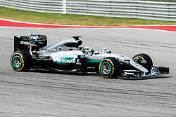 October 23, 2016 - Austin, Texas, U.S - Mercedes driver Lewis Hamilton (44) of Great Britain in action during the race at the Circuit of the Americas race track in Austin,Texas. (Credit Image: © Dan Wozniak via ZUMA Wire)