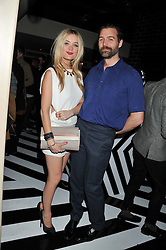 LAURA WHITMORE and PATRICK GRANT at the InStyle Best of British Talent Event in association with Lancôme and Avenue 32 held at The Rooftop Restaurant, Shoreditch House, Ebor Street, London E1 on 30th January 2013.