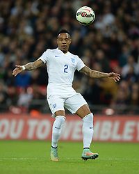Nathaniel Clyne (Southampton) - Photo mandatory by-line: Alex James/JMP - Mobile: 07966 386802 - 15/11/2014 - SPORT - Football - London - Wembley - England v Slovenia - EURO 2016 Qualifier