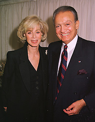 MR & MRS WAFIC SAID he is the multi millionaire, at a dinner in London on 24th May 1999.MSK 126
