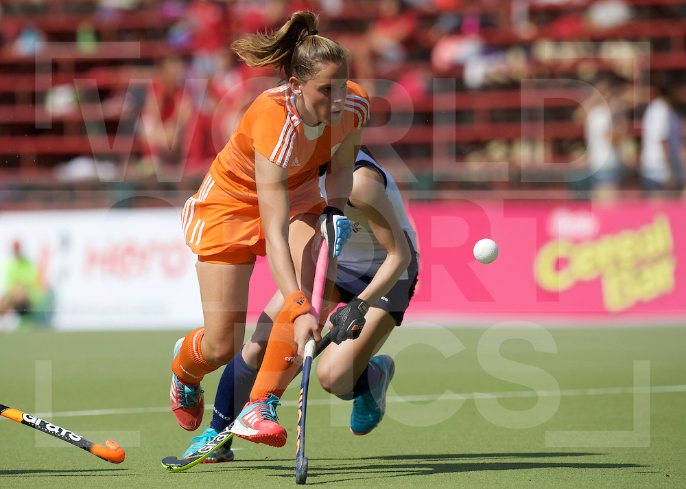 SANTIAGO - 2016 8th Women's Hockey Junior World Cup<br /> NED v KOR (Pool A)<br /> foto: <br /> FFU PRESS AGENCY COPYRIGHT FRANK UIJLENBROEK
