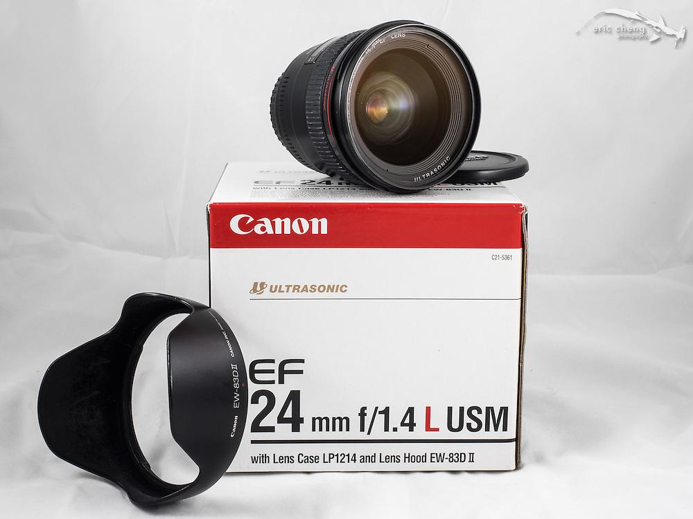 Canon EF 24mm f/1.4L USM lens
