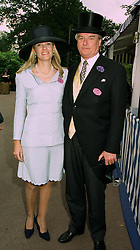 SIR TIM & LADY BELL at Royal Ascot on 17th June 1997.LZI 71