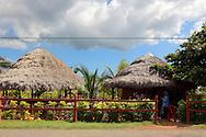 Guide station at Portada de la Libertad, Granma, Cuba.
