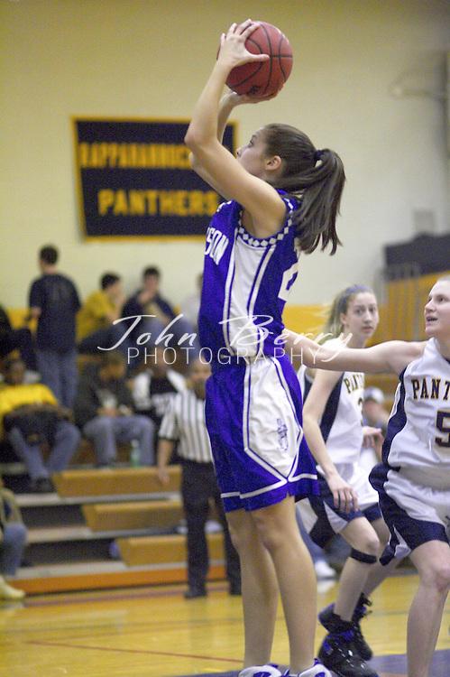 Varsity Girls Basketball..vs Rappahannock..January 28, 2005