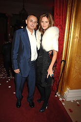 TRINNY WOODALL and her husband JONNY ELICHAOFF at a party to celebrate the launch of the 'Inde Mysterieuse' jewellery collection held at Lancaster House, London SW1 on 19th September 2007.<br /><br />NON EXCLUSIVE - WORLD RIGHTS