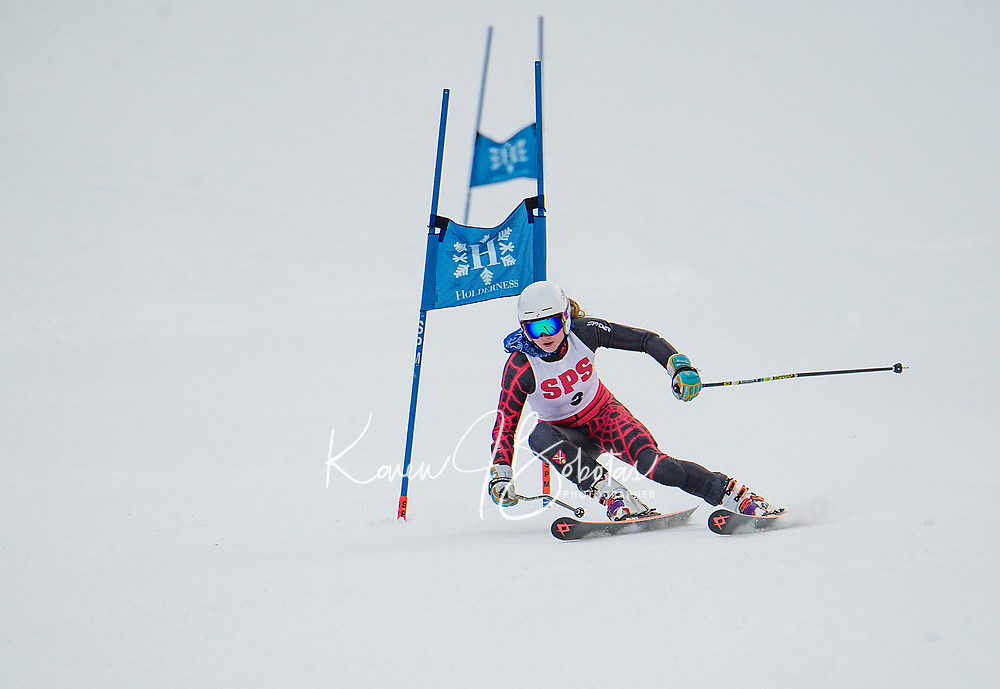 St Paul's School alpine skiing at Loon.  ©2018 Karen Bobotas Photographer