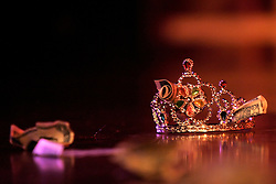 A patron's crown is seen in New York, Saturday, March 18, 2006.