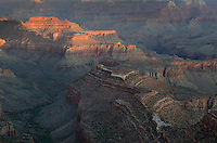 Sunrise over the Grand Canyon, Grand Canyon National Park