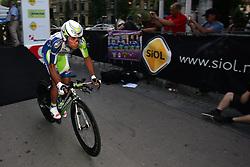 Nibali Vicenzo (ITA) of Liquigas at prologue (6,6km) of Tour de Slovenie 2011, on June 16 2011, in Ljubljana, Slovenia. (Photo by Urban Urbanc / Sportida)
