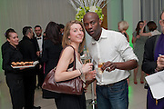EMMA GYASI; GEORGE GYASI, English National Ballet Beyond Ballets Russes at the London Coliseum opening night party at the St Martins Lane Hote, Londonl . 22 March 2012.