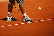 Friday May 30th 2008. Roland Garros. Paris, France..Rafael NADAL against Jarkko NIEMINEN. .Tennis French Open. 3rd Round...