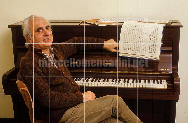 Italian conductor Massimo Pradella, about 1985 / Il direttore d'orchestra Massimo Pradella, 1985 circa - © Marcello Mencarini