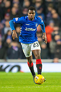 Lassana Coulibaly (#23) of Rangers FC during the Ladbrokes Scottish Premiership match between Rangers and Aberdeen at Ibrox, Glasgow, Scotland on 5 December 2018.