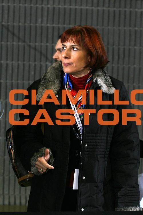 DESCRIZIONE : Taranto Coppa Italia Femminile 2006-07 Semifinale Germano Zama Faenza Trogylos Priolo <br /> GIOCATORE : Pinto <br /> SQUADRA : <br /> EVENTO : Coppa Italia Femminile 2006-2007 <br /> GARA : Germano Zama Faenza Trogylos Priolo <br /> DATA : 14/02/2007 <br /> CATEGORIA : Ritratto <br /> SPORT : Pallacanestro <br /> AUTORE : Agenzia Ciamillo-Castoria/G.Ciamillo
