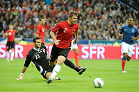 FOOTBALL - UEFA EURO 2012 - QUALIFYING - GROUP STAGE - GROUP D - FRANCE v ALBANIA - 07/10/2011 - PHOTO JEAN MARIE HERVIO / DPPI - ANDI LILA (ALB)