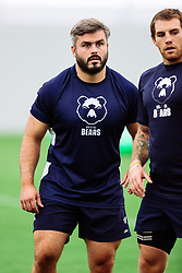 Jake Armstrong looks on as Bristol Bears start to use their new almost completed Training centre - Rogan/JMP - 08/07/2020 - RUGBY UNION - Beggar Bush Lane - Bristol, England.
