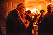 "Photo by Matt Roth.Assignment ID: 10137379A..Senator Patrick Leahy (D-VT) talks with Susan Rice, the United States U.N. ambassador during the Buffy and Bill Cafritz, Ann and Vernon Jordan, Vicki and Roger Sant inaugural ""Bi-Partisan Celebration"" at the Dolley Madison Ballroom at the Madison Hotel in Washington, D.C. on Sunday, January 20, 2013."