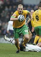 Preston - Saturday February 14th, 2009: Sean St. Ledger of Preston North End and Gary Doherty of Norwich City during the Coca Cola Championship match at Deepdale, Preston. (Pic by Michael Sedgwick/Focus Images)