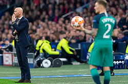 08-05-2019 NED: Semi Final Champions League AFC Ajax - Tottenham Hotspur, Amsterdam<br /> After a dramatic ending, Ajax has not been able to reach the final of the Champions League. In the final second Tottenham Hotspur scored 3-2 / Coach Erik ten Haf of Ajax