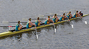 Henley, GREAT BRITAIN, 2012  Remenham Challenge Cup, W8+, National Rowing Centre of Excellence, NRCE, AUS   Friday  18:37:39  29/06/2012    [Mandatory Credit, Intersport Images]. ...Rowing Courses, Henley Reach, Henley, ENGLAND . HRR