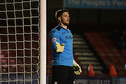 Joe Day gives his instructions during the Sky Bet League 2 match between Crawley Town and Newport County at the Checkatrade.com Stadium, Crawley, England on 1 March 2016. Photo by Michael Hulf.