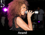 Anané performs at the official Grammy Celebration for Louie Vega at Pacha, New York.
