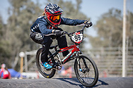#99 (GEORGE Danielle) USA  at Round 9 of the 2019 UCI BMX Supercross World Cup in Santiago del Estero, Argentina