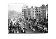 View of Westmoreland Street, Dublin.<br /> <br /> 13th January 1954<br /> 13/01/1954