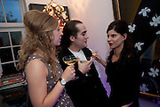 SUSAN PARKES; CHARLES ELIASCH;  AMANDA ELIASCH,, Party at the home of Amanda Eliasch in Chelsea after the opening of As I Like it. A memory by Amanda Eliasch and Lyall Watson. Chelsea Theatre. Worl's End. London. 4 July 2010<br /> <br />  , -DO NOT ARCHIVE-© Copyright Photograph by Dafydd Jones. 248 Clapham Rd. London SW9 0PZ. Tel 0207 820 0771. www.dafjones.com.