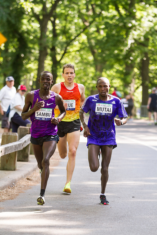 UAE Healthy Kidney 10K, Stephen Sambu, Ben True, Geoffrey Mutai lead race with one mile to go