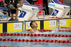 PAN Shiyun CHN at 2015 IPC Swimming World Championships -  Men's lOOm Freestyle S7 - Finals