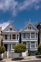 Alamo Square Victorian Houses, San Francisco, California