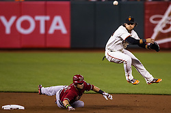brandon Crawford (jumping), 2012.
