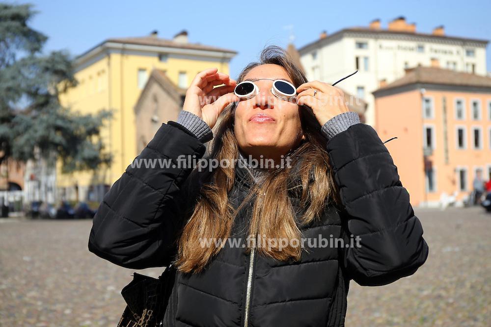 ECLISSI DI SOLE PARZIALE MARZO 2015<br /> FERRARA 20-03-2015<br /> FOTO FILIPPO RUBIN