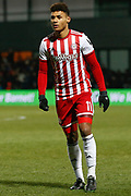 Brentford forward Ollie Watkins (11) during The FA Cup fourth round match between Barnet and Brentford at The Hive Stadium, London, England on 28 January 2019.