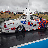 Dowerin's Don Freind (3498) in 'The Jester' Holden VU Maloo Supercharged Outlaw.