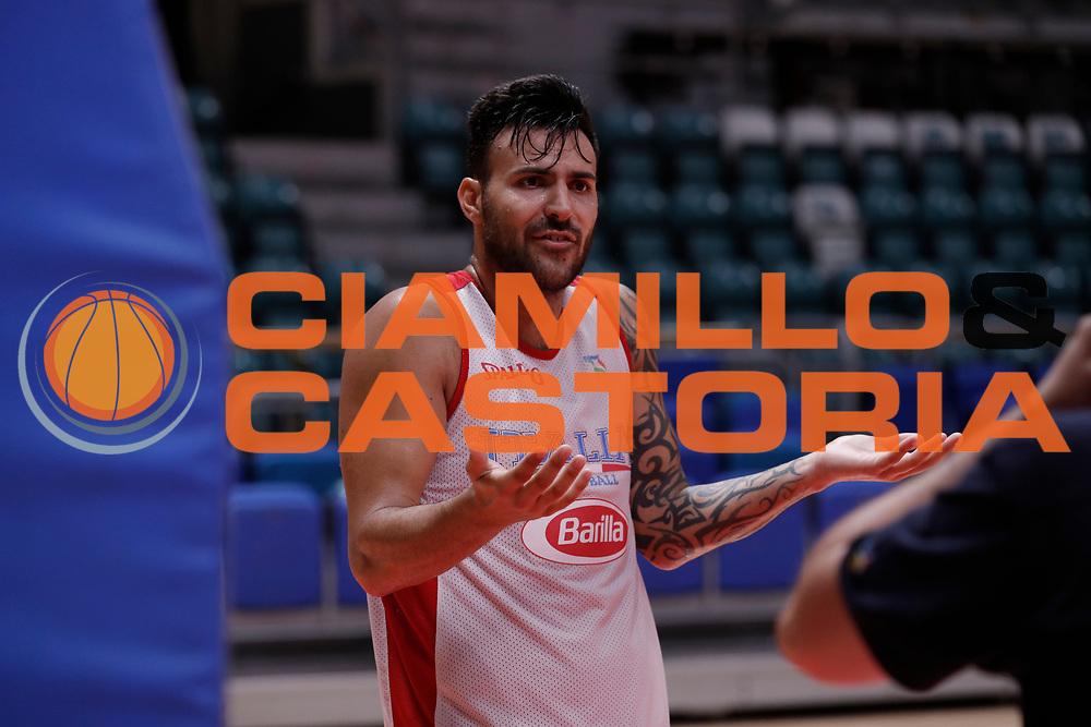 Sacchetti Brian<br /> Nazionale Senior maschile<br /> Allenamento<br /> World Qualifying Round 2019<br /> Bologna 12/09/2018<br /> Foto  Ciamillo-Castoria / Giuliociamillo