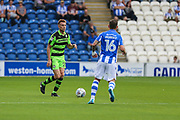 Forest Green Rovers Mark Roberts(21) runs forward during the EFL Sky Bet League 2 match between Colchester United and Forest Green Rovers at the Weston Homes Community Stadium, Colchester, England on 26 August 2017. Photo by Shane Healey.