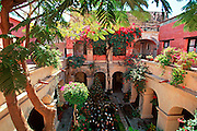 MEXICO, COLONIAL CITIES Oaxaca; El Convento/Camino Hotel the most famous hotel in the city, originally the 15thc Santa Catalina Convent