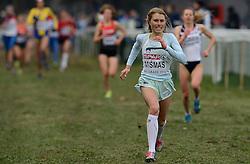 08-12-2013 ATHLETICS: SPAR EC CROSS COUNTRY: BELGRADE<br /> Marusa Mismas of Slovenia wint de bronzen medaille<br /> Foto: Ronald Hoogendoorn / Sportida
