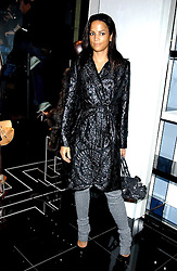 VERONICA WEBB at a party hosted by Versace during London Fashion Week 2005 at their store in Slaone Street, London on 19th September 2005.<br /><br />NON EXCLUSIVE - WORLD RIGHTS