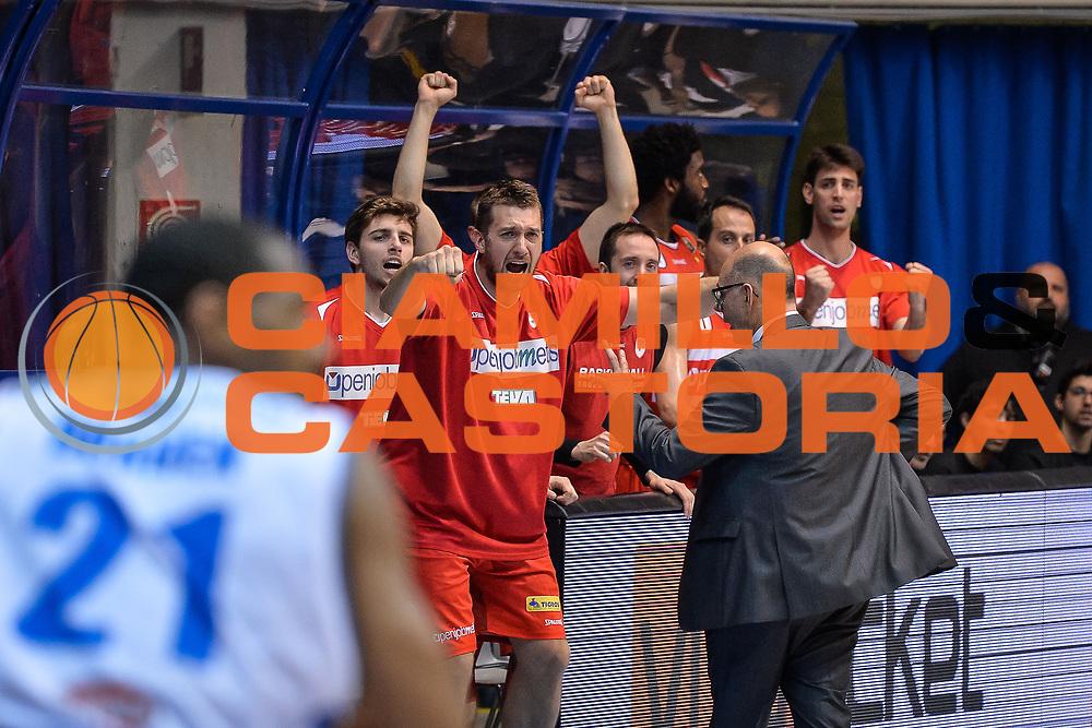 Giancarlo Ferrero<br /> Pallacanestro Cantu' - Openjobmetis Varese <br /> Basket serie A 2016/2017<br /> Desio 02/04/2017<br /> Foto Ciamillo-Castoria