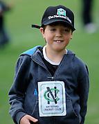 National Bank cricket fan, at the National Bank's Cricket Super Camp , University oval, Dunedin, New Zealand. Thursday 2 February 2012 . Photo: Richard Hood photosport.co.nz
